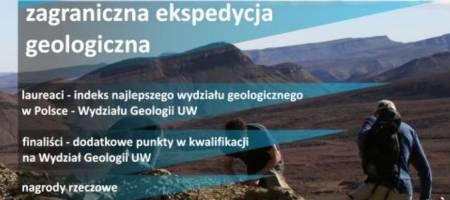 RUSZYŁA REJSTRACJA DO Ogólnopolskiego Konkursu Wiedzy Geologicznej - OKAWANGO